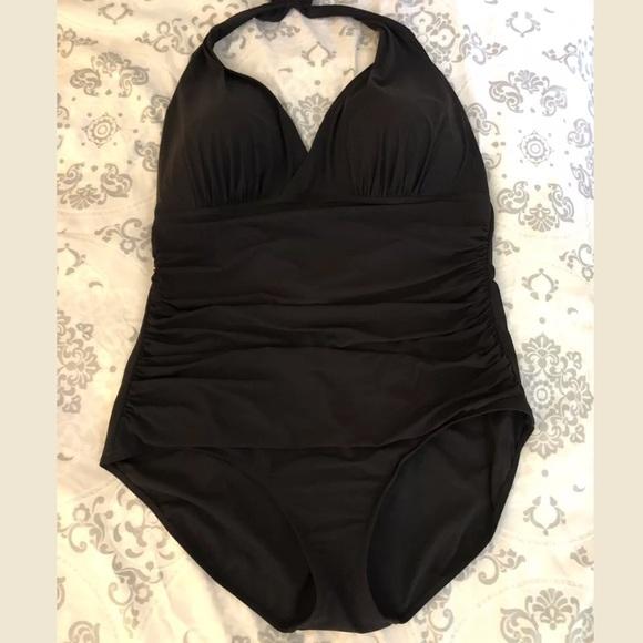 8929c16c23 L.L. Bean Other - Halter Top plus sized LL Bean Halter Swimsuit